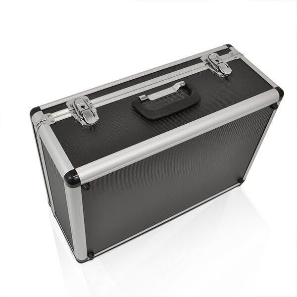 Inklapbaar folderrek koffer